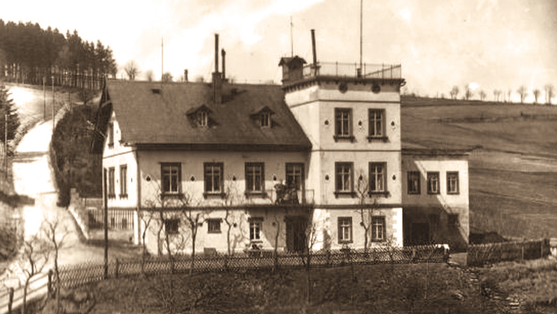 Flader's villa at about 1900